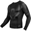 rashguard venum long sleeves technical black f2