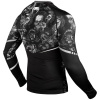 rashguard venum art long sleeves black f3