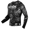 rashguard venum art long sleeves black f2
