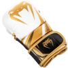 sparring gloves venum challenger white black gold f2