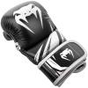 sparring gloves venum challenger black white f2