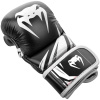 sparring gloves venum challenger black white f2