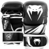 sparring gloves venum challenger black white f1