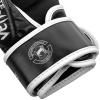 sparring gloves venum challenger black white f5