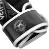 sparring gloves venum challenger black white f5