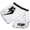venum short muay giant white black f2