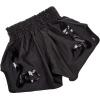 venum shorts muay thai bangkok inferno matte black f2