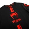 venum 03449 100 tshirt tricko logos black red f6