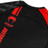 venum 03451 100 s rashguard long sleeve logos black red f8