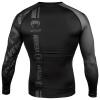 venum 03451 114 rashguard long sleeves black black f4