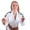 bjj gi kimono brazilian jiu jitsu tatami elements ladies white f1
