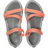 Crocs Swiftwater Webbing Sandal W Bright Coral/Light Grey