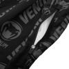 venum fitness short logos black white f5