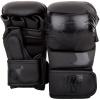 rh 00027 114 sparring gloves charger black black rukavice f1
