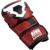 rh 00027 003 sparring gloves charger red black rukavice f2