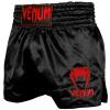 shorts venum muay thai classic black red f1