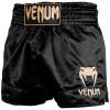 shorts venum muay thai classic black gold f1