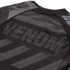 venum 03693 109 rashguard short sleeves amrap black grey f7