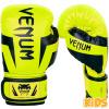 DĚTSKÉ boxerské rukavice Venum Elite Kids - Black/Neo Yellow