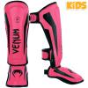 DĚTSKÉ chrániče holení Venum Elite Kids - Black/Pink