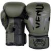 venum 1392 200 boxing gloves boxerske rukavice elite khaki black f2