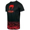 venum 03526 100 tshirt tricko classic black red f2