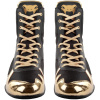 venum 03681 126 boxing shoes boty boxery elite black gold f7