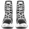 venum 03681 108 boxing shoes boxerske boty elite black white f7