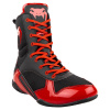 venum 03681 100 boxing shoes boxerske boty elite black red f8