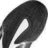 venum 03681 128 boxing shoes elite black silver boxerske boty obuv f4