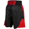 venum 03452 100 boxing short elite black red boxerske sortky f8