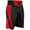 venum 03452 100 boxing short elite black red boxerske sortky f3