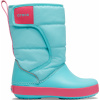 Crocs LodgePoint Snow Boot K Ice Blue/Pool
