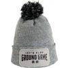 Zimní čepice Ground Game - ŠEDÁ