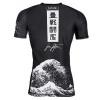 rashguard short tatami kanagawa black 3
