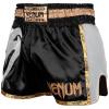 muay thai shorts venum giant black gold 2