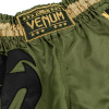 muay thai shorts venum giant khaki black 5