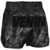 muay thai shorts venum devil black black 3