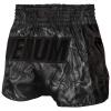 muay thai shorts venum devil black black 1