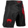 mma shorts venum light 3.0 black red 2