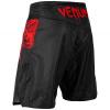 mma shorts venum light 3.0 black red 3