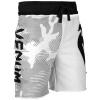 shorts cotton venum assault white black 4