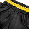 shorts muay thai kids venum inferno black yellow 4