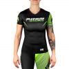damsky rashguard short venum training camp 2.0 black neoyellow 1