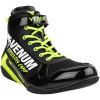 boxing shoes venum giant vtc2 black neoyellow 4