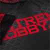 Rashguard - funkční tričko Extreme Hobby BLACK ARMOUR - krátký rukáv - černý