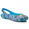 Crocs Olivia II Graphic W Blue Floral 1