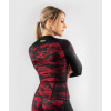 damsky rashguard long venum defender blackred 2