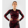 damsky rashguard long venum defender blackred 7