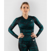 damsky rashguard long venum defender blackgreen 1
